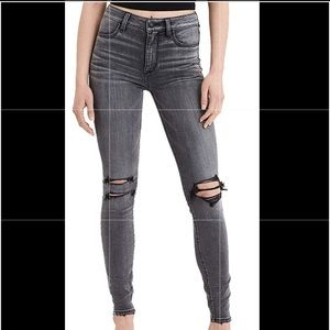 Grey High Waisted American Eagle Jeans